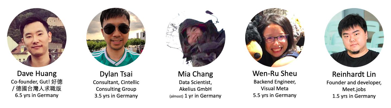Sharers of the event Meet Talk #10 Berlin