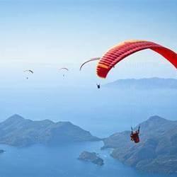 Paragliding promote