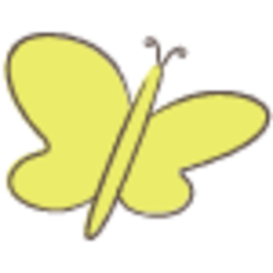 Butterfly yellow eceb6g 75x75 01 promote