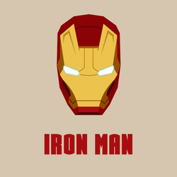 Iron man vector promote